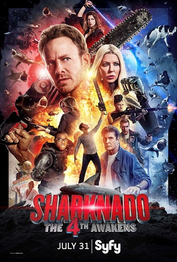 Sharknado 4 The 4th Awakens 2016 English Movie Download