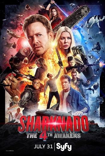 Sharknado 4 The 4th Awakens 2016 English Movie Download