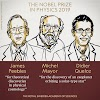 These three scientists received the Nobel Prize for Physics in 2019