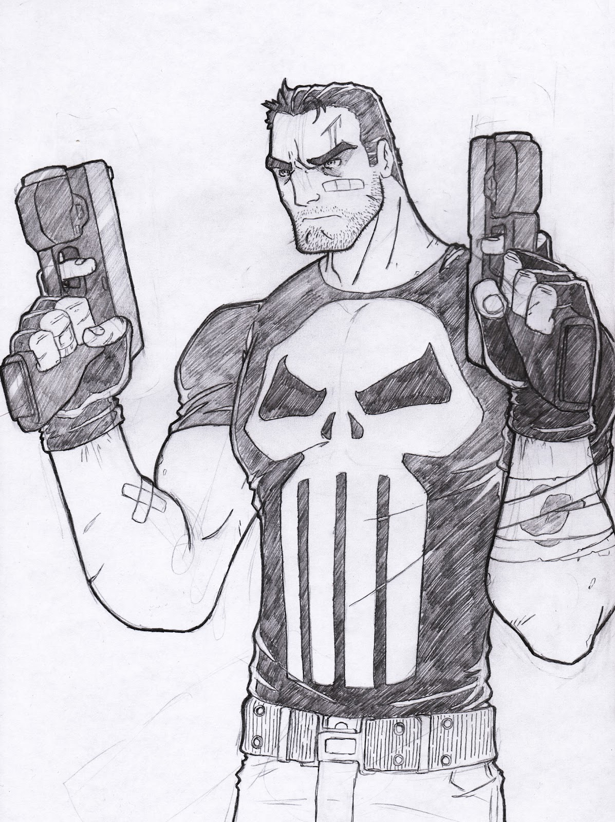 small resolution of sketch paddys the punisher