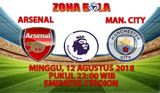 Prediksi Bola Arsenal vs Manchester City 12 Agustus 2018