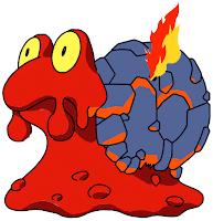 Magcargo, extraño caracol muy caliente