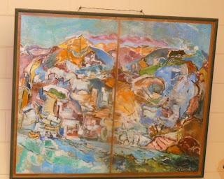 το έργο του Άλκη Πιερράκου στο Δημαρχείο της Ερμούπολης