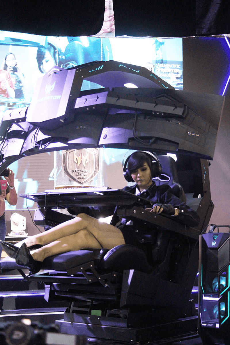 Acer launches Predator Thronos AIO gaming chair for PHP 699,999