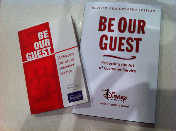 "Libro Recomendado de Disney: ""Be Our Guest"""
