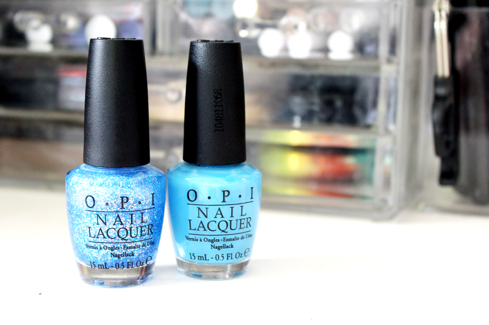 NOTD | OPI No Room For The Blues + Last Friday Night - CassandraMyee