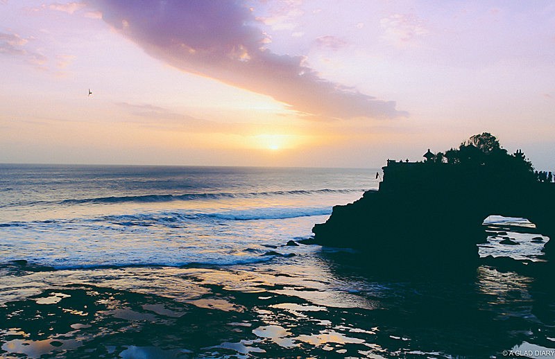 Sunset at Tanah Lot: Things To Do in Bali, Indonesia