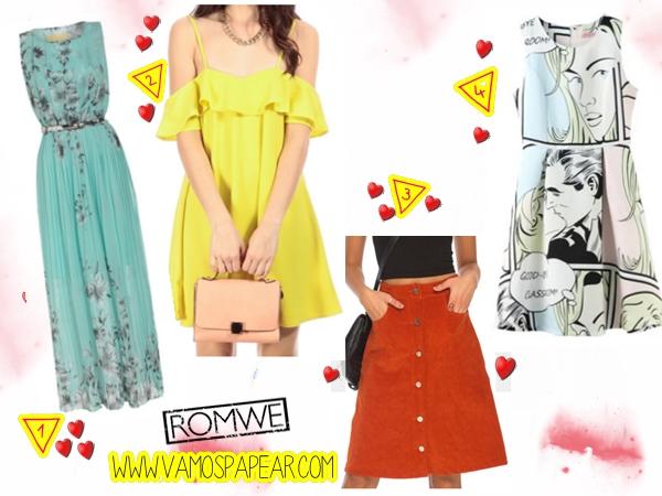 Loja Online Romwe Dicas Dress Vestidos?utm_source=vamospapear.com&utm_medium=blogger&url_from=vamospapear