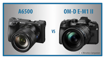 Sony A6500, Sony mirrorless, 4K de vídeo, nueva Sony cámara, Sony vs Olympus