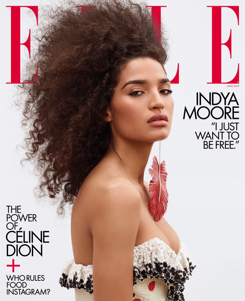Indya Moore Becomes ELLE's First Transgender Cover Girl