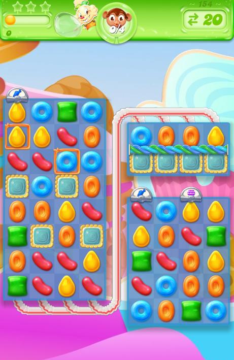 Candy Crush Jelly Saga 154