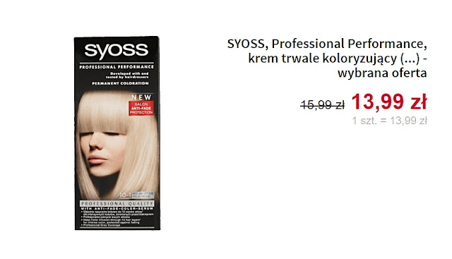 Syoss - farba do włosów