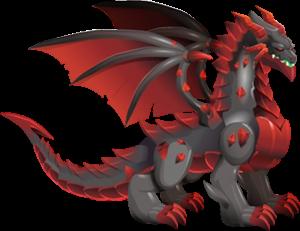 Dragón Obsidiana