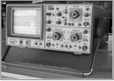 Osiloskop dua saluran for Voltan spa