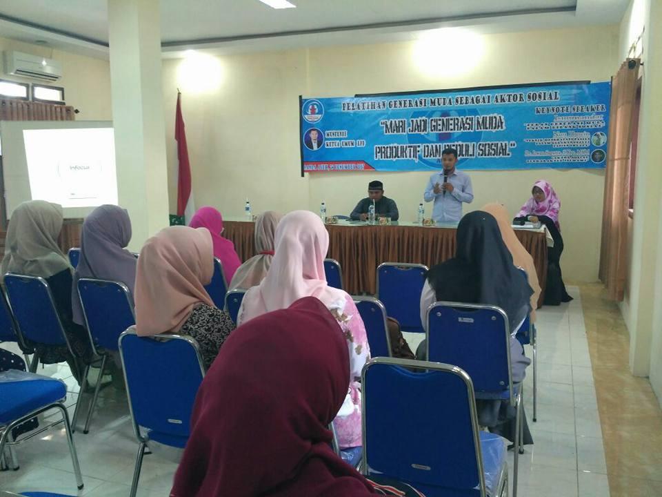 Lembaga Peduli Dhuafa adakan Pelatihan Generasi Muda sebagai Aktor Sosial