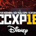 Disney marca presença na CCXP 2018