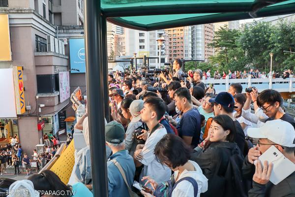 台中懸日9/18-9/20|公益路天橋擠滿人潮|爭相拍攝奇景