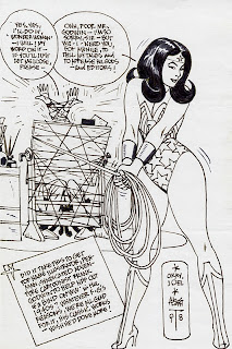 The Dork Review Alex Toth S Wonder Woman Sketch