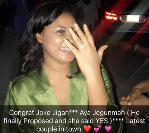 olawale jegunmah proposes joke jigan