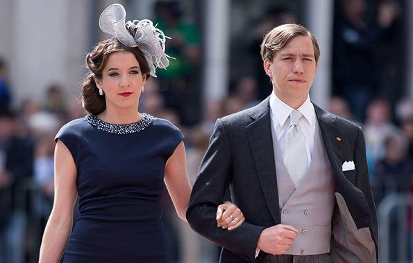 Prince Louis and Tessy Antony (formerly Princess Tessy of Luxembourg) appeared in High Court in London