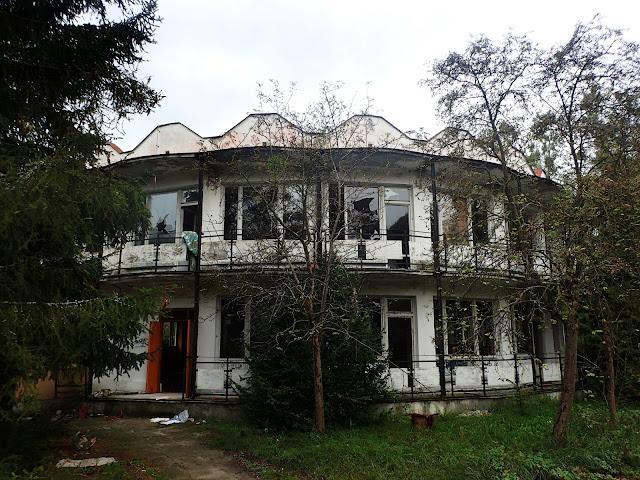 Jeden z PRL-owskich domów wczasowych
