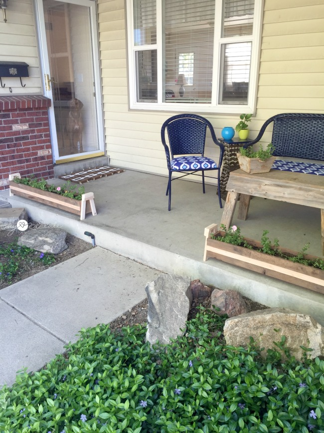 Long Porch Planters, My Love 2 Create