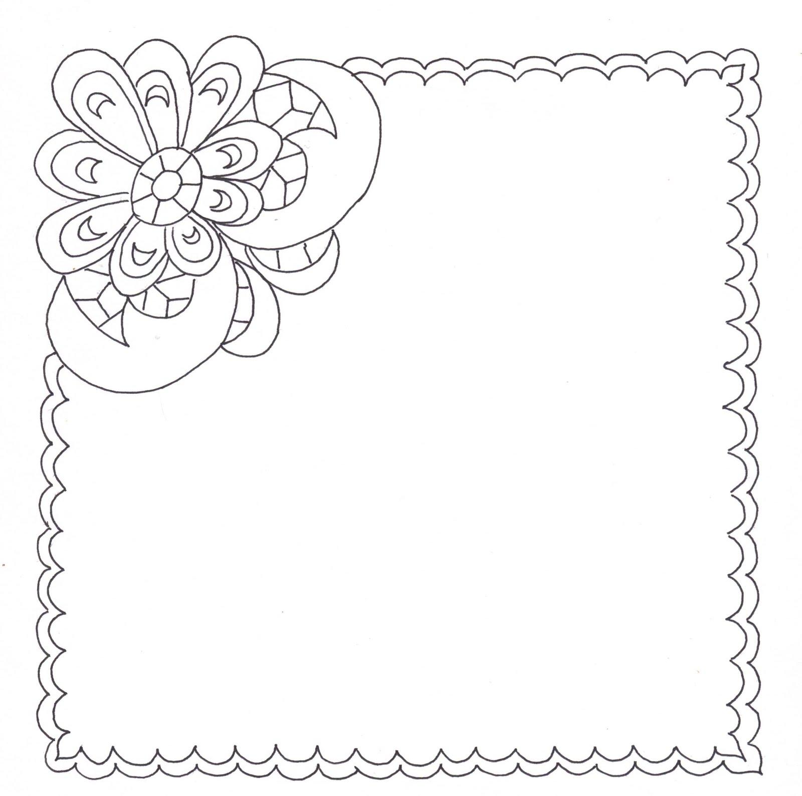 платок бабушке раскраска