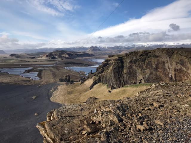czarna plaża, Islandia