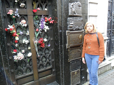 Bairro Recoleta; Argentina; Buenos Aires; cemitério Recoleta; túmulo de Evita Peron;