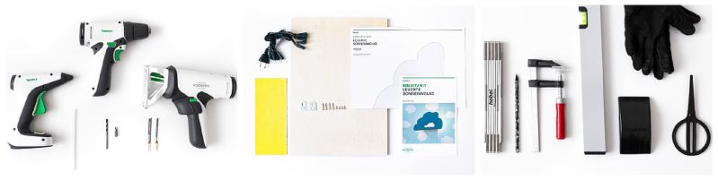 Vorwerk Kreativ Kit Sonnenwolke DIY Wolken Leuchte