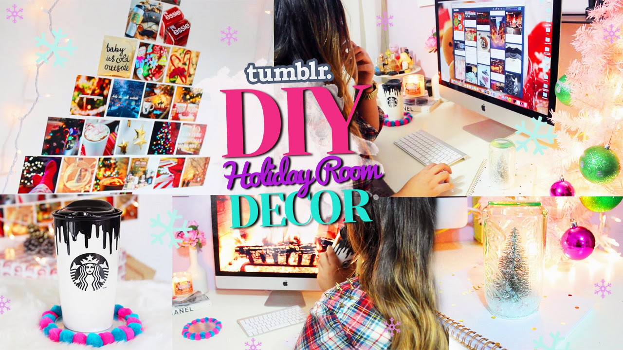 Hellomaphie Diy Tumblr Holiday Room Decor Get Inspired