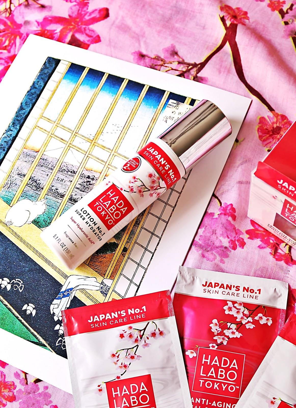 HADA LABO TOKYO - lotion, krem nawilżający i maski w płachcie
