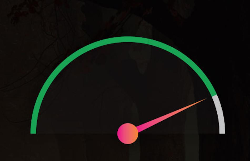 Create Dynamic Half Circular Progress Bar With HTML 5 CSS 3