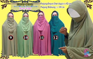 Jilbab Cadar Terbaru Model Syar'i, Modis dan Murah