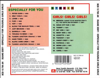 Duane Eddy - Especially for You/Girls! Girls! Girls!