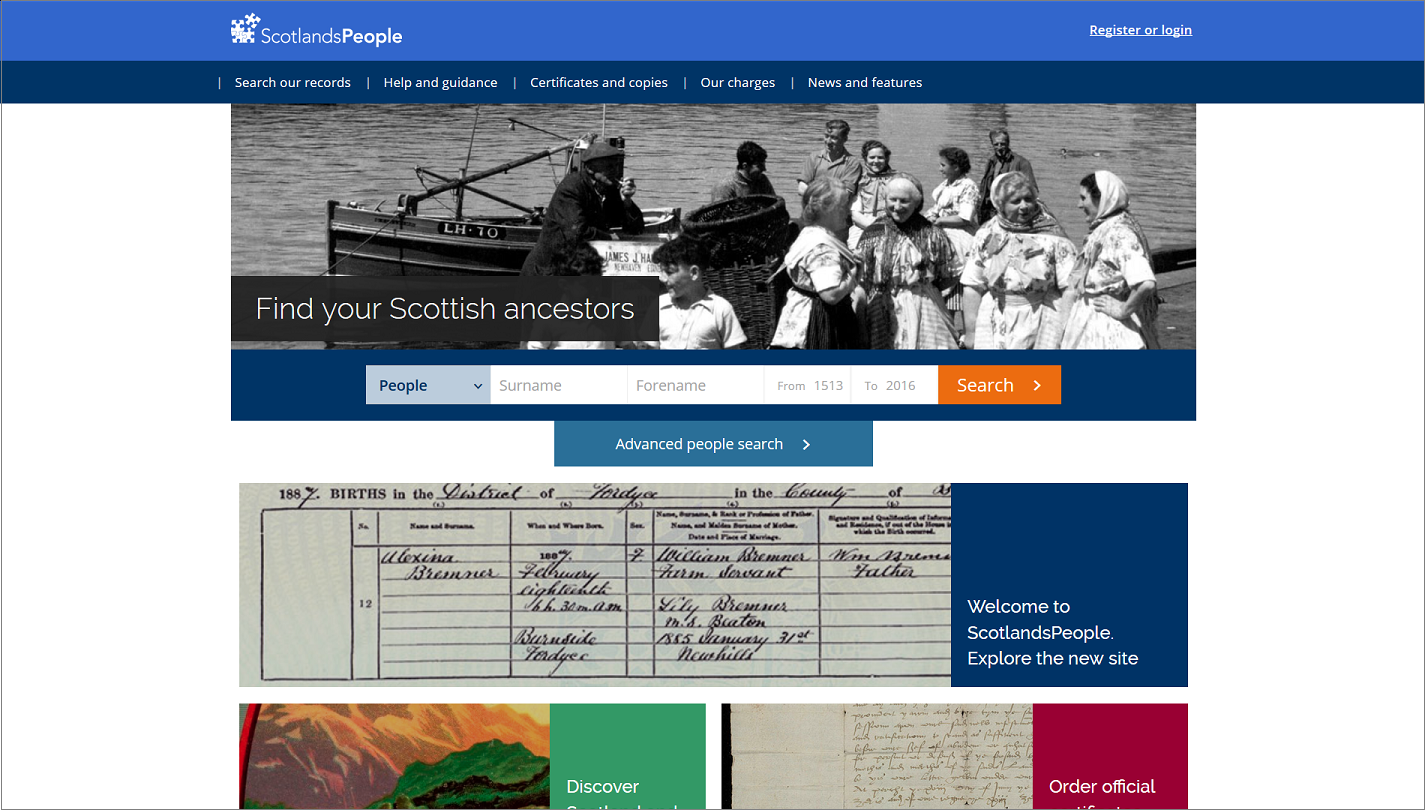The genes blog more on the new scotlandspeople website one thing that does seem to have gone completely in the new site unless i have missed it is the ability to view search results by way of a map as opposed fandeluxe Choice Image