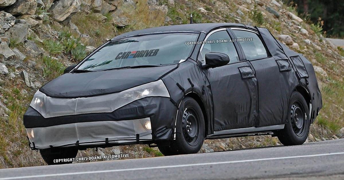 Toyota News 2014 Toyota Corolla Redesign