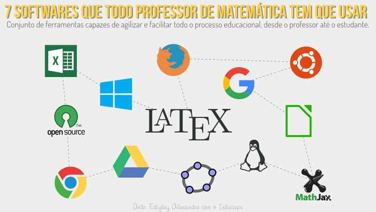 7 softwares que todo professor de Matemática tem que usar