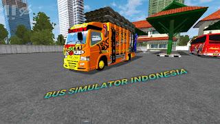 Bus Simulator Indonesia Mod Truck Terbaru
