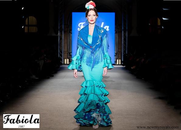 Princess Alexia wore Fabiola 1987 Flamenco dresses