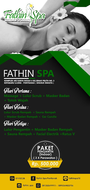 Brosur Fathin Spa Corel Draw