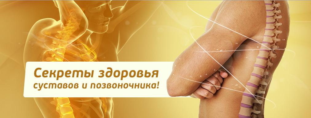 Оздоровление позвоночника и суставов человека