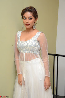 Anu Emmanuel in a Transparent White Choli Cream Ghagra Stunning Pics 090.JPG