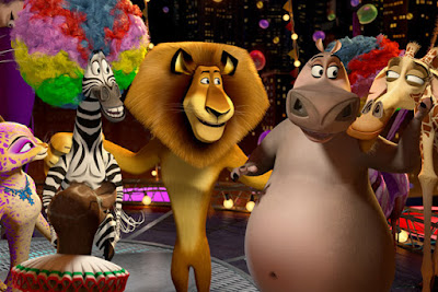 بوستر فيلم مدغشقر 3