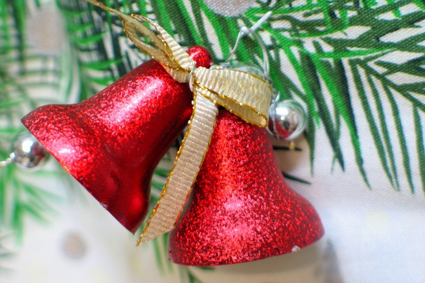 Red Christmas Bell Images