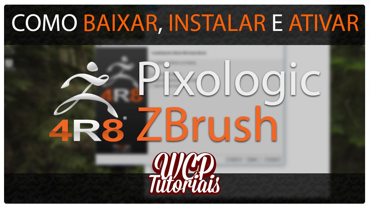 descargar e instalar zbrush 4r8 full crack 2018