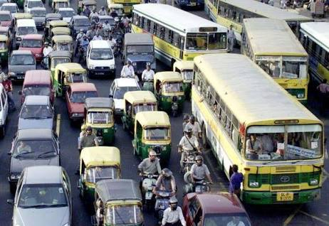 Need for more buses and less cars.