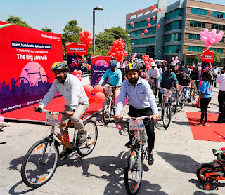 Mahindra World City, Jaipur launches eco-friendly bicycle sharing services