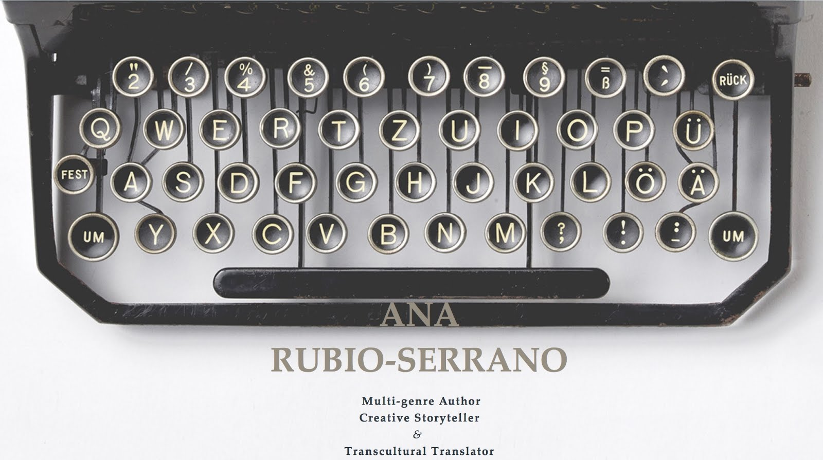 Ana Rubio-Serrano's Official Website