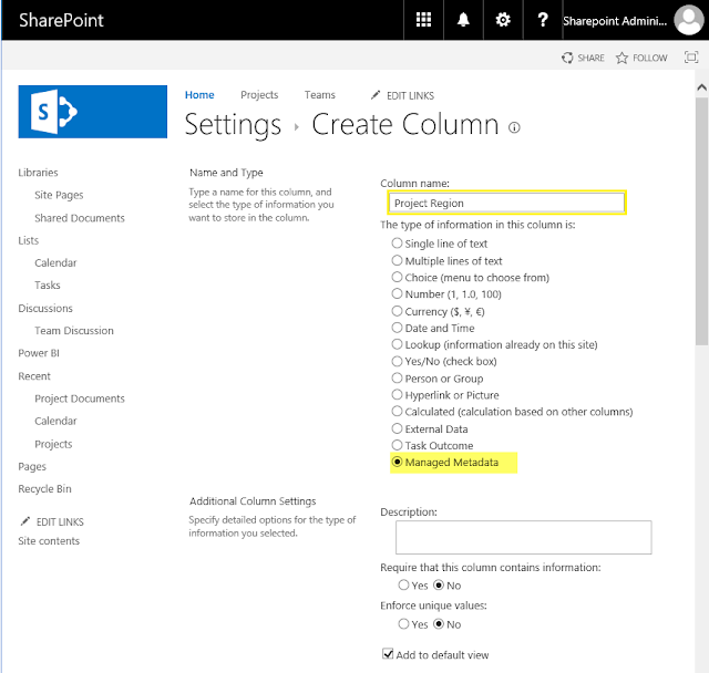 Add Managed Metadata field to SharePoint Online List using PowerShell
